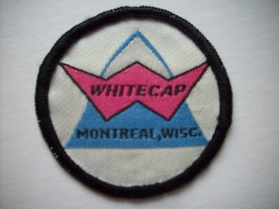 Whitecap Montreal  Wisconsin WI embroidered patch skiing