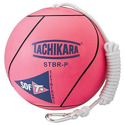 Tachikara Stbr-P Extra Soft Tetherball (Pink). New
