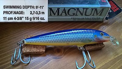 Artificiale Rapala Floating Magnum F-11 MAG /Fishing leurre lure minnow