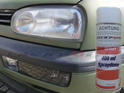 1 Spray can 1K 400ml automotive paint RAL 6003 Olive green Matte NVA GDR
