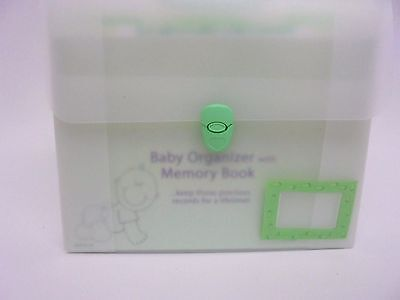 AWESOME Baby Gift Set Organizer With Keepsake Memory Book Great Gift Idea!
