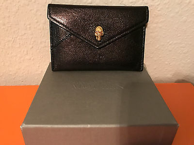 Authentic Alexander Mcqueen Card Case Holder