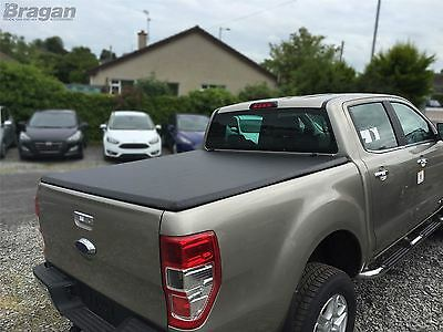 To Fit 2005 - 2016 Nissan Navara D40 Tri Fold Soft Tonneau Cover LONG BED