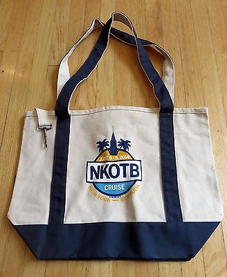 New Kids on the Block Cruise Tote Bag