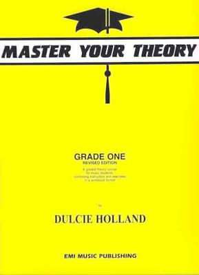 Master Your Theory Grade 1 / One - Dulcie Holland - Revised Edition **  NEW