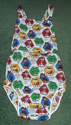 """Adult baby SUMMER SUNSUIT PAW PATROL 40"""" hips"""