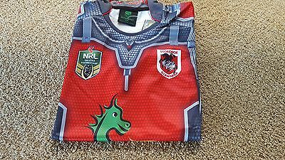 St George Illawarra Dragons Antman Jersey ... Brand new with Tags !!!!!