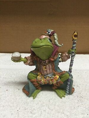 Wizard Of Camelot Frog Figurine