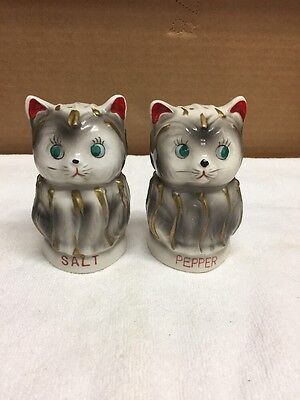 Vintage Tilso Cat Style Salt And Pepper Shakers