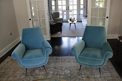 1950s Italian Sofa and Chair Set