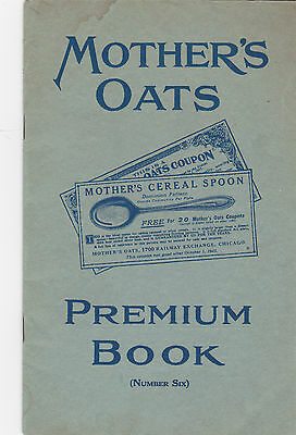 MOTHER'S CRUSHED OATS Premium Book 8 July 1921 Oneida Jewelry Fountain Pen Toys