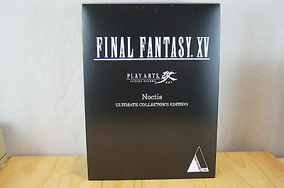 Noctis Play Arts Kai Final Fantasy XV Ultimate Collector's Edition New in Box