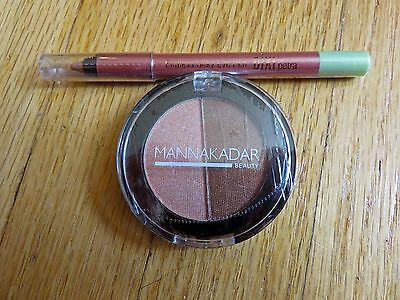 Mini Makeup Set - Dixi by Petra Eye Pencil & Mannakadra Beauty Eyeshadow