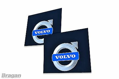 To Fit Volvo Truck 2pc Pair UV Rubber Rear Mudflap Mudguards Mud Flaps 60x50cm