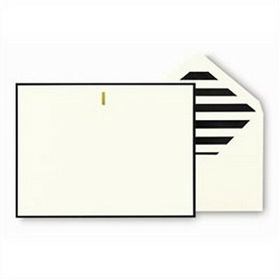 Kate Spade Monogram Correspondence Cards Letter I Index Card Supplies