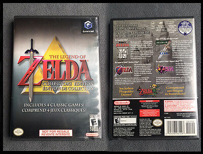 Legend of Zelda Collector's Edition (Nintendo GameCube, 2003) Complete w/ Manual