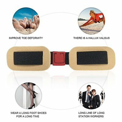 Professional Thumb Correction Stretch Belt Toes Ectropion Exercise Belt AU