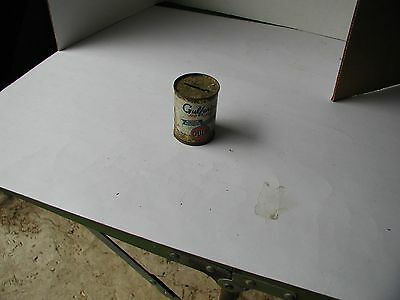 "Vintage "" Gulfpride  "" Gulf Oil Corp.Small Tin Bank"