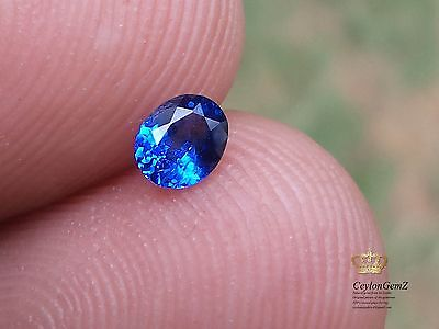 Natural Royal blue sapphire top quality Real Ceylon earth mined genuine Gemstone