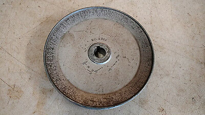 "Vintage Delta Rockwell 7"" Jointer Motor Pulley  No. 5700 3/4"" Bore"
