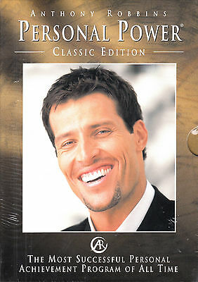 Anthony Robbins Personal Power Classic Edition 7 CD New/Sealed Audiobook CD 1996