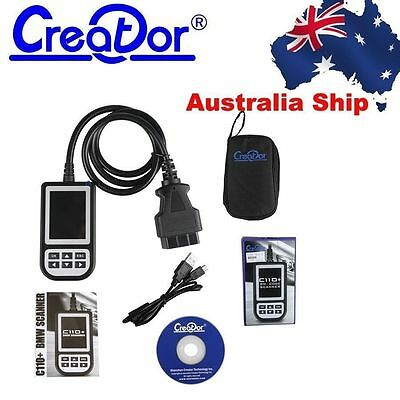 Australia Stock Creator C110+ OBD2 Car Diagnostic for BMW Cars Code Reader Scan