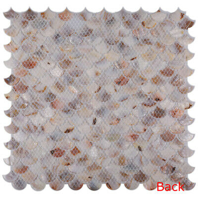 CHOIS B02 Mother Pearl Shell Backsplash Mosaic Tiles Home Walls Decorations Tile