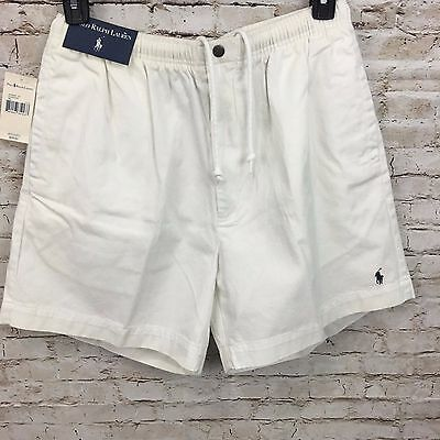 NWT POLO RALPH LAUREN Casual Shorts Draw Strings White Men's Size XL