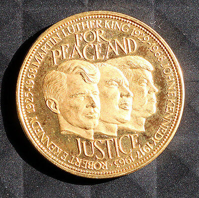 Nederland For Peace and Justice 1968 - Gold Coin 21.6 carat gold - 15 grams