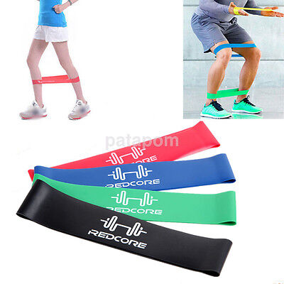 Resistance Exercise Elastic Loop Band For Yoga Rehab Crossfit Pilates Glute Band