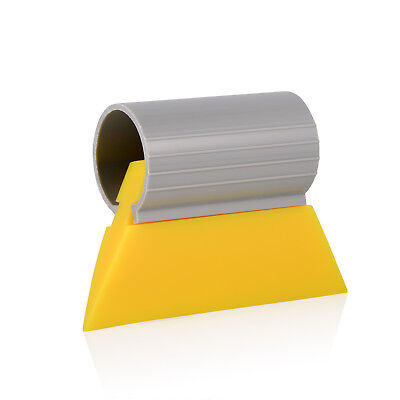 """3-1/2"""" Yellow Turbo Squeegee Scraper For Auto Window Tint Film Water Clean"""