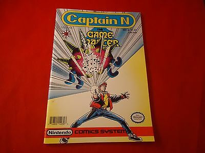Captain N The Game Master No. 3 Comic by Valiant Nintendo Comics System