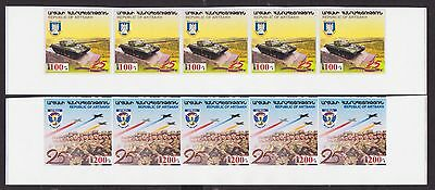 News Rare Shushi Army 2017 Nagorno Karabakh Armenia 2Str Bottom Imper Mnh R17618
