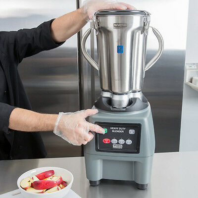 Waring 3 3/4 hp Commercial 1 Gallon Stainless Steel Food Blender 3 Speed