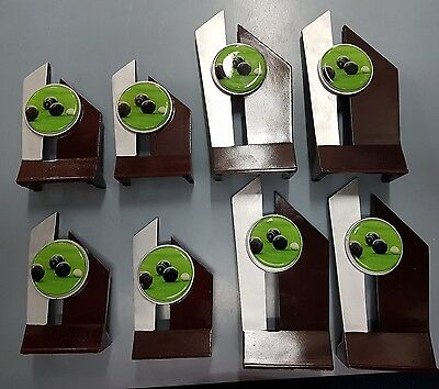 8 x new Lawn Bowls Trophies. (4 Lg, 4 Sm) Discontinued line.
