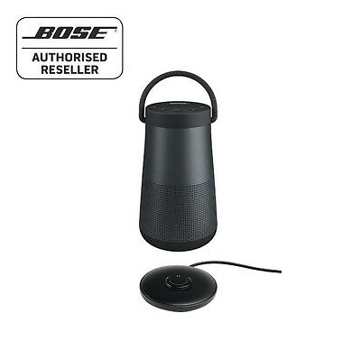 Bose Soundlink Revolve+ Bluetooth Speaker 360º, BLACK- WITH CHARGING CRADLE