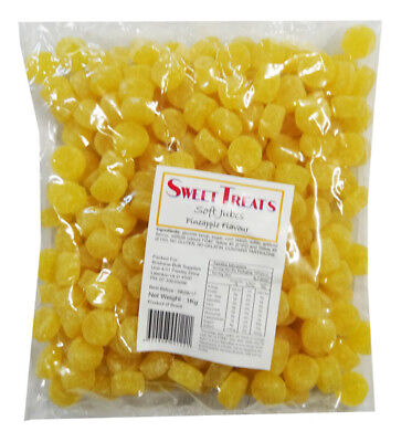 Sweet Treats Jubes - Yellow (1kg)