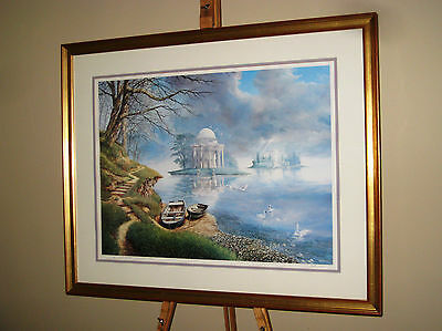 NEIL SIMONE Superb Large Signed Limited Edition Print Realms of the Imagination