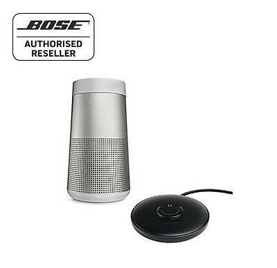 Bose Soundlink Revolve Bluetooth Speaker 360º, LUX GREY + CHARGING CRADLE