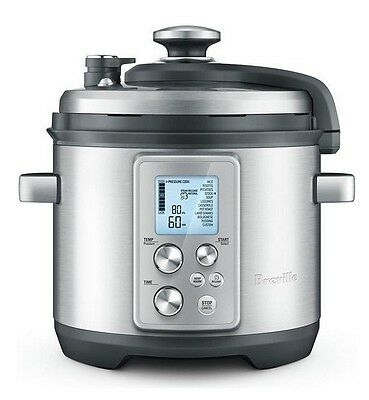NEW Breville BPR700BSS The Fast Slow Pro Cooker 6L Multi Functions Handfree