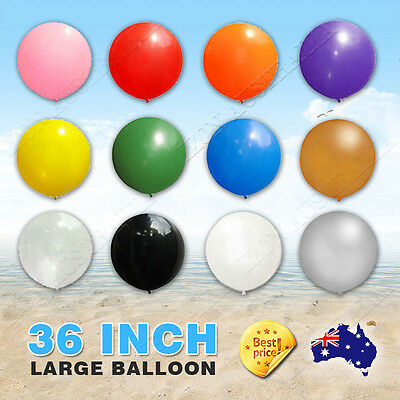 Latex 12 Colors Large 36 Inch 90cm Balloon Party Wedding Xmas Holiday