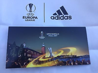 Welcome Pack Final Uefa Europa League Uel 2017 Ajax-Manchester Stockholm Rare