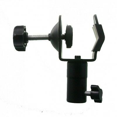 """Double Clamp - C-Clamp with 5/8"""" Female Socket 
