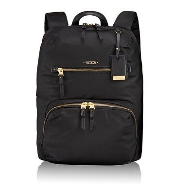 Authentic NWT Tumi Halle Backpack VOYAGEUR, Black $295.