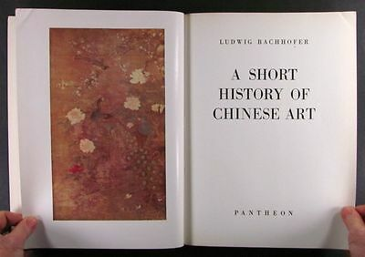 Antique Chinese Painting Sculpture Bronzes - Important Book by Bachhofer