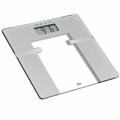 Weight Watchers Ultra Slim Body Analysis Home Bathroom BMI Scale - Silver/Glass