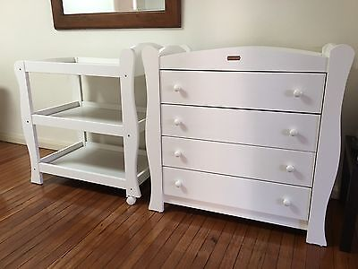 4 Drawer Chest and Change Table Set -  Love n Care
