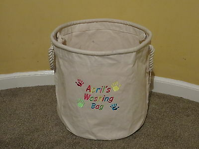 Personalised Laundry Bag / Toy Storage