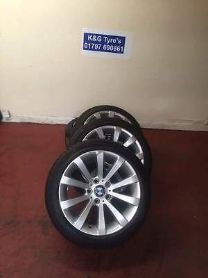BMW Alloy Wheels 17 inch 5x120 - Great condition