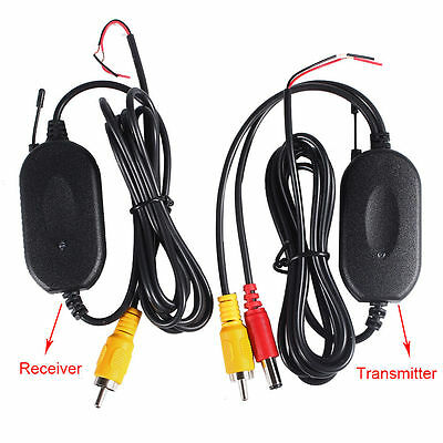 2.4GHz 12V Wireless Video Transmitter Receiver Module for Car Rearview Camera